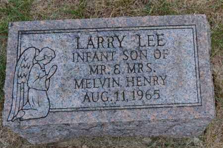 HENRY, LARRY LEE - Union County, Ohio   LARRY LEE HENRY - Ohio Gravestone Photos
