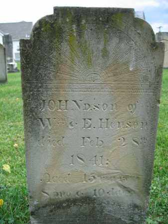 HENSON, JOHN - Union County, Ohio | JOHN HENSON - Ohio Gravestone Photos