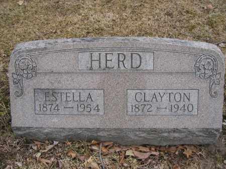 HERD, CLAYTON - Union County, Ohio | CLAYTON HERD - Ohio Gravestone Photos
