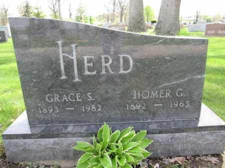 HERD, HOMER G. - Union County, Ohio | HOMER G. HERD - Ohio Gravestone Photos