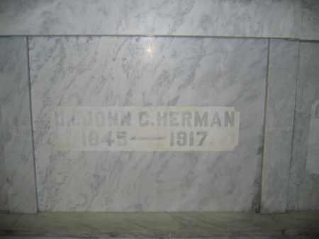HERMAN, M.D., JOHN C. - Union County, Ohio | JOHN C. HERMAN, M.D. - Ohio Gravestone Photos