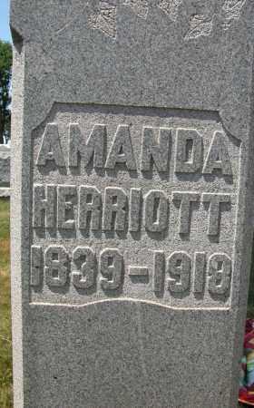 HERRIOTT, AMANDA - Union County, Ohio | AMANDA HERRIOTT - Ohio Gravestone Photos