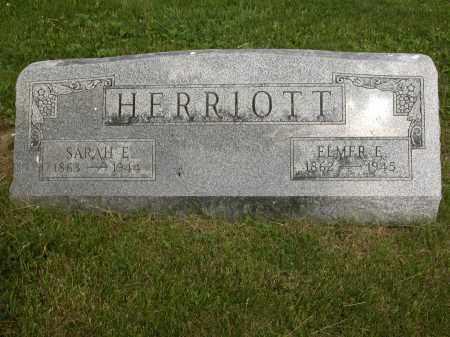 HERRIOTT, SARAH E. - Union County, Ohio   SARAH E. HERRIOTT - Ohio Gravestone Photos