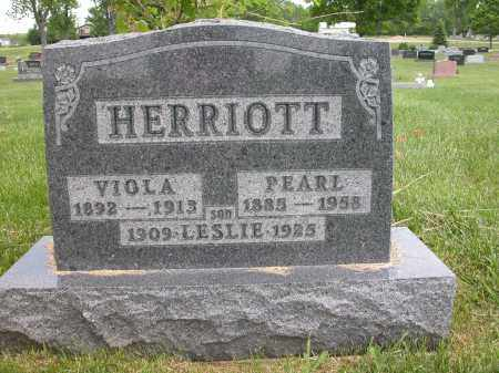 HERRIOTT, LESLIE - Union County, Ohio | LESLIE HERRIOTT - Ohio Gravestone Photos
