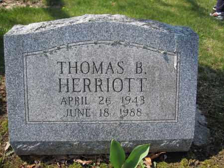 HERRIOTT, THOMAS B. - Union County, Ohio | THOMAS B. HERRIOTT - Ohio Gravestone Photos