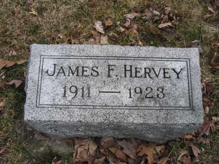 HERVEY, JAMES F. - Union County, Ohio   JAMES F. HERVEY - Ohio Gravestone Photos