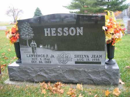 HESSON, JR., LAWRENCE F. - Union County, Ohio | LAWRENCE F. HESSON, JR. - Ohio Gravestone Photos