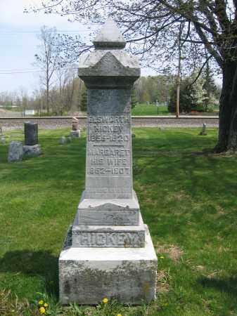 HICKEY, MARGARET - Union County, Ohio | MARGARET HICKEY - Ohio Gravestone Photos