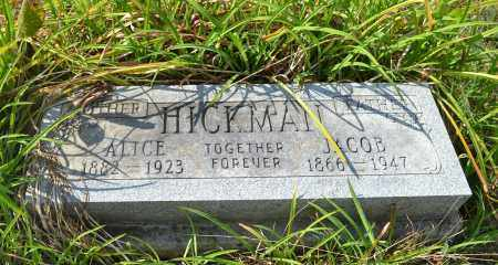 HICKMAN, JACOB - Union County, Ohio | JACOB HICKMAN - Ohio Gravestone Photos