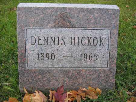 HICKOK, DENNIS - Union County, Ohio | DENNIS HICKOK - Ohio Gravestone Photos