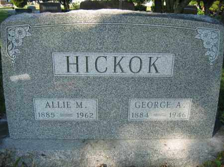 HICKOK, GEORGE A. - Union County, Ohio | GEORGE A. HICKOK - Ohio Gravestone Photos