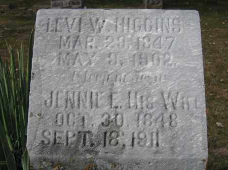 HIGGINS, LEVI W. - Union County, Ohio | LEVI W. HIGGINS - Ohio Gravestone Photos