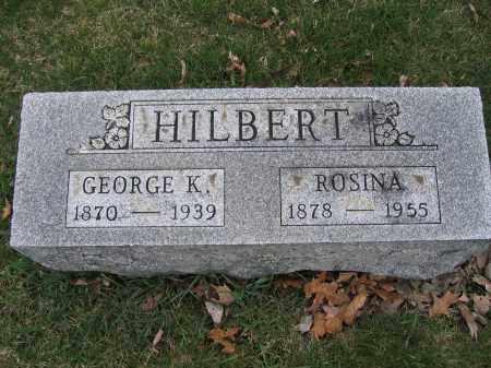 HILBERT, ROSINA - Union County, Ohio | ROSINA HILBERT - Ohio Gravestone Photos