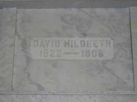 HILDRETH, DAVID - Union County, Ohio | DAVID HILDRETH - Ohio Gravestone Photos