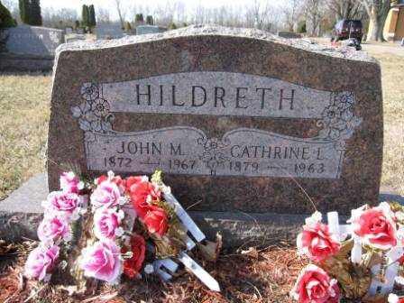 HILDRETH, CATHRINE L. - Union County, Ohio | CATHRINE L. HILDRETH - Ohio Gravestone Photos