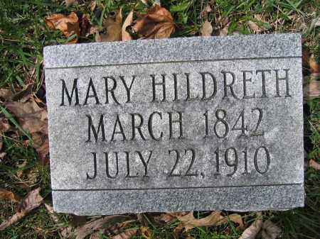 HILDRETH, MARY - Union County, Ohio | MARY HILDRETH - Ohio Gravestone Photos