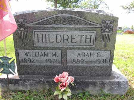 HILDRETH, WILLIAM M. - Union County, Ohio | WILLIAM M. HILDRETH - Ohio Gravestone Photos