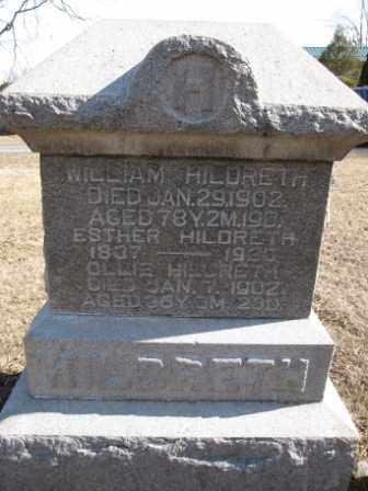 HILDRETH, WILLIAM - Union County, Ohio | WILLIAM HILDRETH - Ohio Gravestone Photos