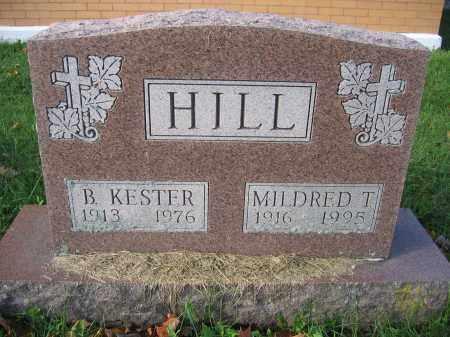 HILL, MILDRED T. - Union County, Ohio | MILDRED T. HILL - Ohio Gravestone Photos
