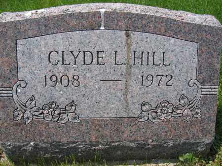 HILL, CLYDE L. - Union County, Ohio | CLYDE L. HILL - Ohio Gravestone Photos