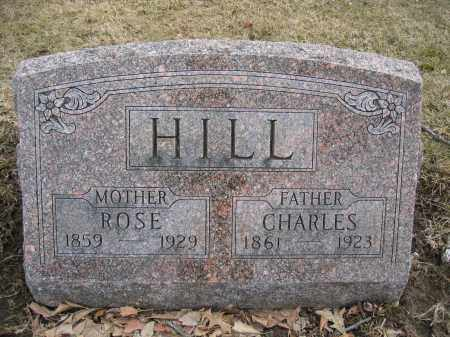 HILL, CHARLES - Union County, Ohio | CHARLES HILL - Ohio Gravestone Photos