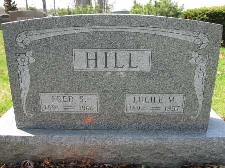 HILL, FRED S. - Union County, Ohio | FRED S. HILL - Ohio Gravestone Photos