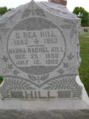 HILL, HANNA RACHEL - Union County, Ohio | HANNA RACHEL HILL - Ohio Gravestone Photos
