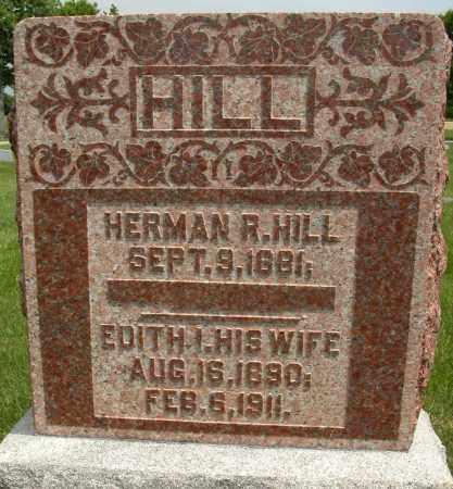 HILL, EDITH I. - Union County, Ohio | EDITH I. HILL - Ohio Gravestone Photos