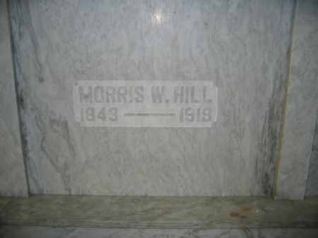 HILL, MORRIS W. - Union County, Ohio   MORRIS W. HILL - Ohio Gravestone Photos