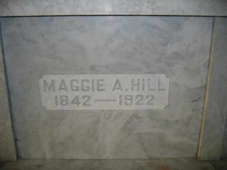 HILL, MAGGIE A. - Union County, Ohio | MAGGIE A. HILL - Ohio Gravestone Photos