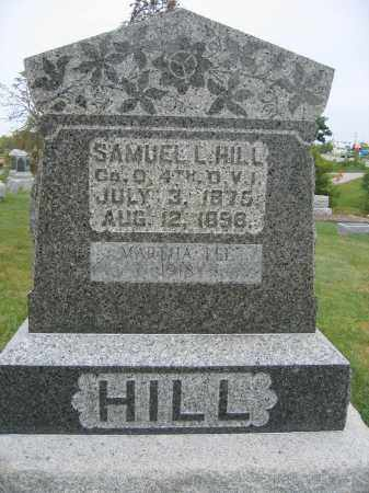 HILL, MARTHA LEE - Union County, Ohio | MARTHA LEE HILL - Ohio Gravestone Photos