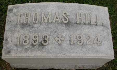 HILL, THOMAS - Union County, Ohio | THOMAS HILL - Ohio Gravestone Photos