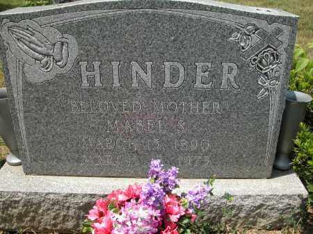 HINDER, MABEL S. - Union County, Ohio | MABEL S. HINDER - Ohio Gravestone Photos
