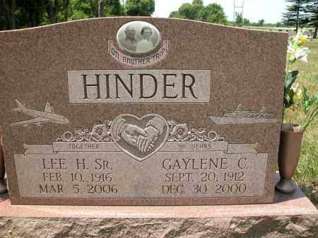 HINDER, GAYLENE C. - Union County, Ohio | GAYLENE C. HINDER - Ohio Gravestone Photos