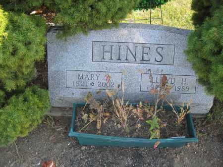 HINES, LLOYD H. - Union County, Ohio   LLOYD H. HINES - Ohio Gravestone Photos