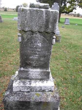 HITT, MARY - Union County, Ohio   MARY HITT - Ohio Gravestone Photos