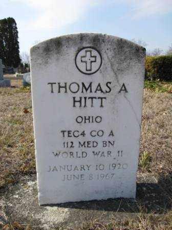HITT, THOMAS A. - Union County, Ohio   THOMAS A. HITT - Ohio Gravestone Photos