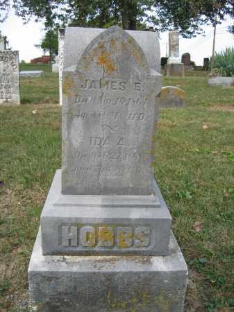 HOBBS, JAMES E. - Union County, Ohio   JAMES E. HOBBS - Ohio Gravestone Photos