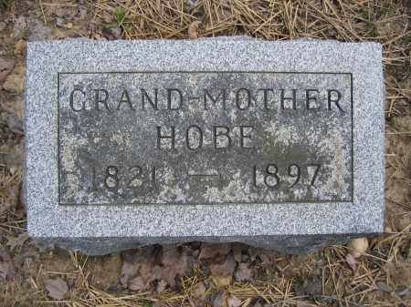 HOBE, GRAND-MOTHER - Union County, Ohio | GRAND-MOTHER HOBE - Ohio Gravestone Photos