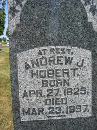 HOBERT, ANDREW J. - Union County, Ohio | ANDREW J. HOBERT - Ohio Gravestone Photos