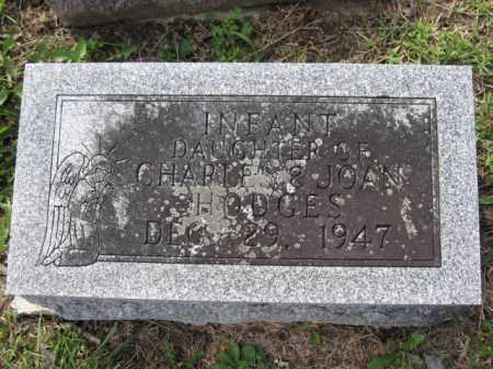 HODGES, INFANT DAUGHTER - Union County, Ohio | INFANT DAUGHTER HODGES - Ohio Gravestone Photos