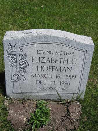 HOFFMAN, ELIZABETH C. - Union County, Ohio | ELIZABETH C. HOFFMAN - Ohio Gravestone Photos
