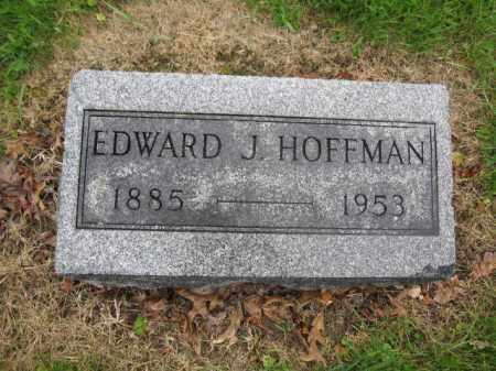 HOFFMAN, EDWARD J. - Union County, Ohio | EDWARD J. HOFFMAN - Ohio Gravestone Photos