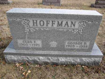 HOFFMAN, CLEO F. - Union County, Ohio | CLEO F. HOFFMAN - Ohio Gravestone Photos