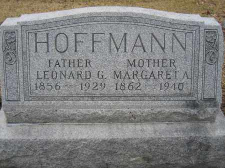 HOFFMANN, MARGARET A. - Union County, Ohio | MARGARET A. HOFFMANN - Ohio Gravestone Photos