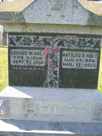 HOLT, GEORGE W. - Union County, Ohio | GEORGE W. HOLT - Ohio Gravestone Photos
