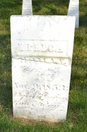 HOMAN, REBECA - Union County, Ohio   REBECA HOMAN - Ohio Gravestone Photos