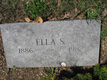 HOOPES, ELLA SOUTHWICK - Union County, Ohio | ELLA SOUTHWICK HOOPES - Ohio Gravestone Photos