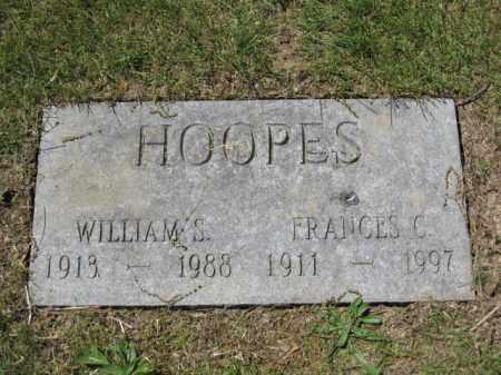 HOOPES, FRANCES C. - Union County, Ohio   FRANCES C. HOOPES - Ohio Gravestone Photos