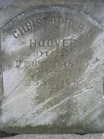 HOOVER, CHRISTOPHER H. - Union County, Ohio | CHRISTOPHER H. HOOVER - Ohio Gravestone Photos